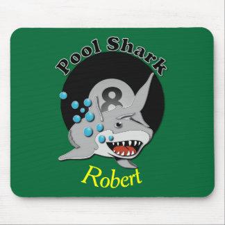 Eight Ball Pool Shark Mouse Pad