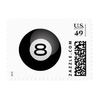 Eight Ball Postage