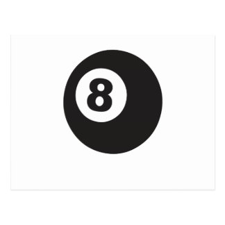 Eight Ball Postcard