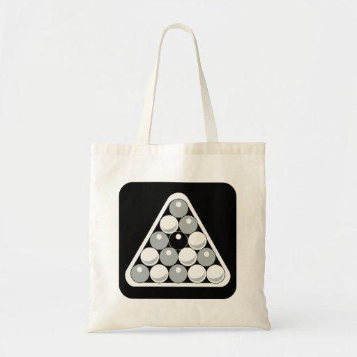Eight Ball Rack Canvas Bag