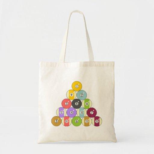 Eight Ball Rack Bag