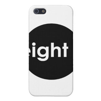 Eight Ball Text iPhone Case (dark) Cases For iPhone 5