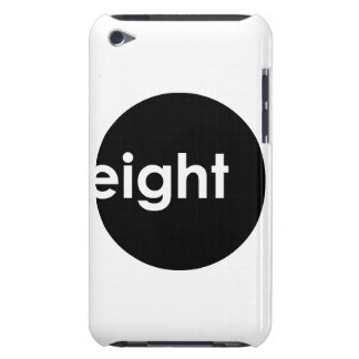 Eight Ball Text iPod Touch Case (dark)
