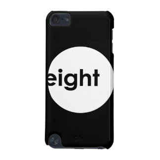 Eight Ball Text iPod Touch Case (light)