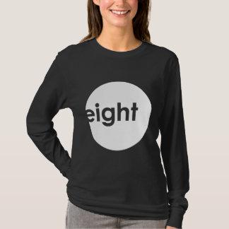 Eight Ball Text Shirt (light)