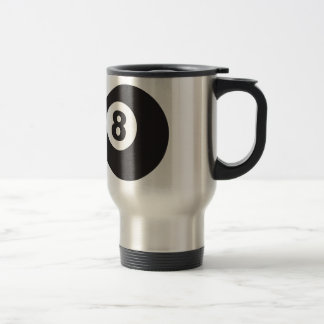 Eight Ball Travel Mug