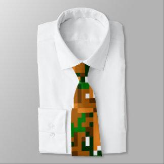 Eight Bit Camouflage Neck Tie