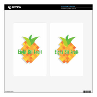 Eight Bit Fruit Kindle Fire Decal