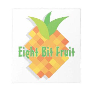 Eight Bit Fruit Note Pad