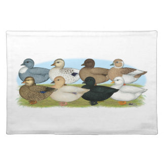 Eight Call Ducks Placemat