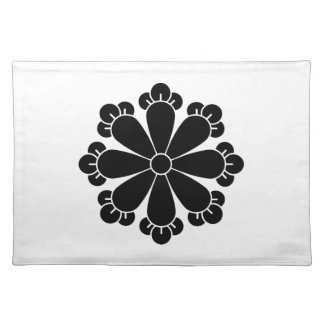 Eight cloves cloth placemat