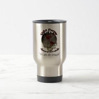 """Eight Corner  Coffee Mug, """"We are the struggle"""" Travel Mug"""