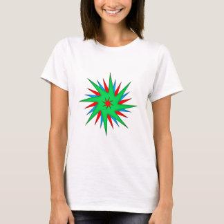 Eight-corner of stars octagon star T-Shirt