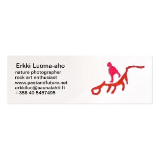Eight divers Double-Sided mini business cards (Pack of 20)