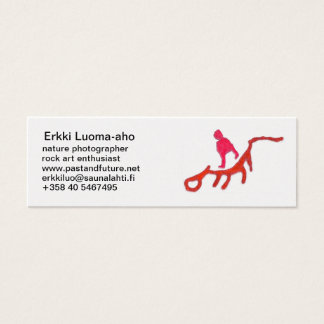 Eight divers mini business card