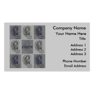 Eight Ears Double-Sided Standard Business Cards (Pack Of 100)