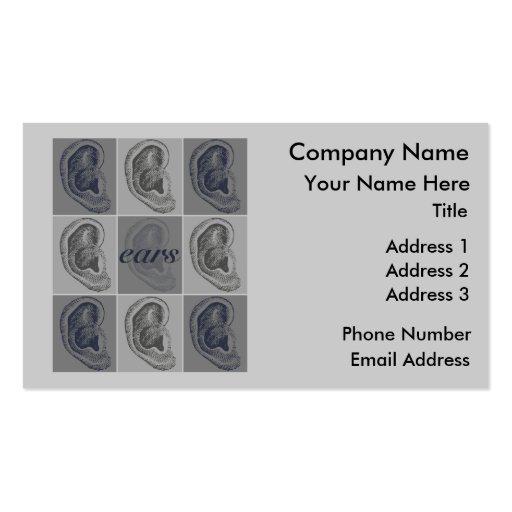 Eight Ears Business Card
