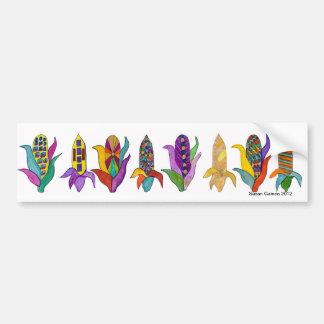 Eight Ears of Corn Bumper Sticker
