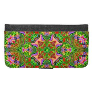 Eight Fold Symmetrical Design on Wallet Case