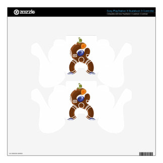 Eight fruits decal for PS3 controller