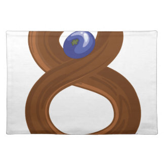 Eight fruits placemat