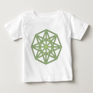 eight-hit a corner twisted octagon braided baby T-Shirt