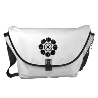 Eight hydraulic turbines courier bag