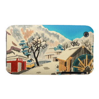 Eight Kyoto Snow Scenes, Kurama Road Eiichi iPhone 3 Case-Mate Case