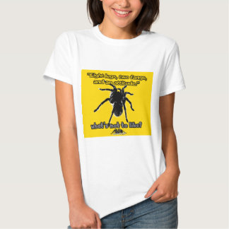 Eight Legs, Two Fangs and Attitude Tee Shirt