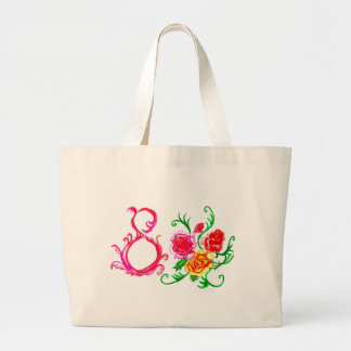 Eight of March Art2 Large Tote Bag