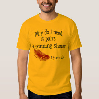 Eight Pairs Running Shoes T-shirts