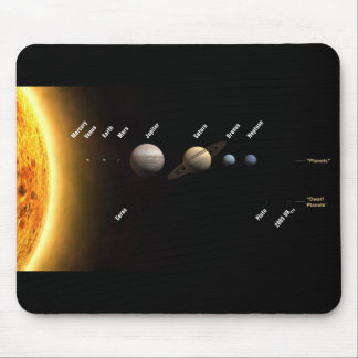 Eight Planets and New Solar System Mouse Pads