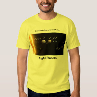 Eight Planets and New Solar System,  Tshirt
