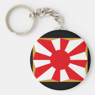 Eight provision Asahi day flags Keychain