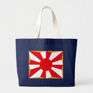 Eight provision Asahi day flags Large Tote Bag