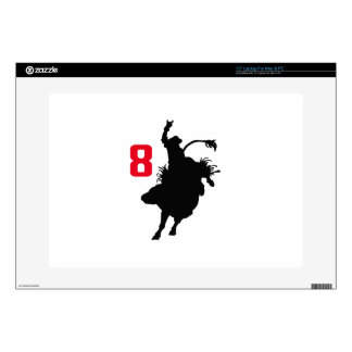 EIGHT SECOND RIDE LAPTOP DECALS