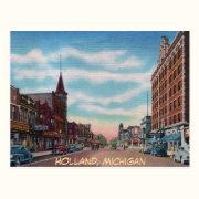 Eight St. Holland Michigan Postcard