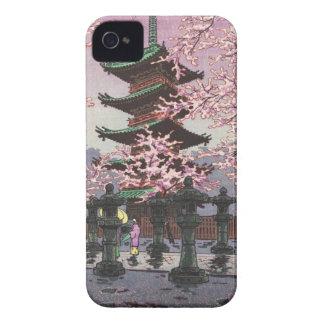 Eight Views Of Tokyo Ueno Toshogu Shrine Kasamatsu iPhone 4 Case