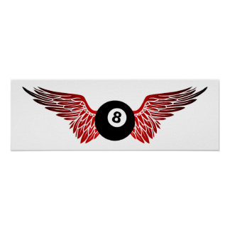 eightball del vuelo posters