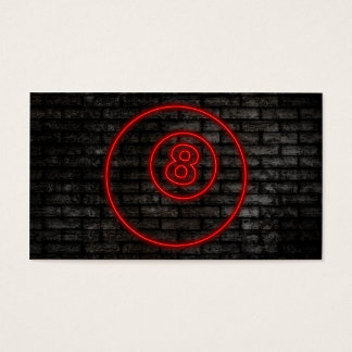 eightball : electric sign business card