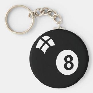 Eightball Key Chain