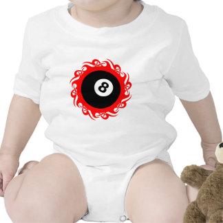 eightball tribal traje de bebé