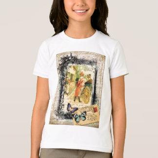 Eighteenth Century Couple Wedding Carriage T-Shirt