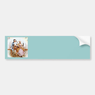 Eighteenth Century French Romance Bumper Stickers