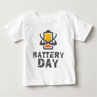 Eighteenth February - Battery Day Baby T-Shirt