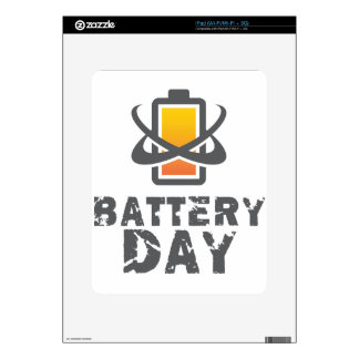 Eighteenth February - Battery Day Skin For iPad