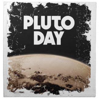 Eighteenth February - Pluto Day - Appreciation Day Cloth Napkin