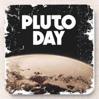 Eighteenth February - Pluto Day - Appreciation Day Drink Coaster
