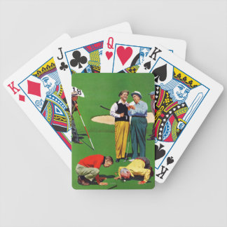 Eighteenth Hole Bicycle Playing Cards