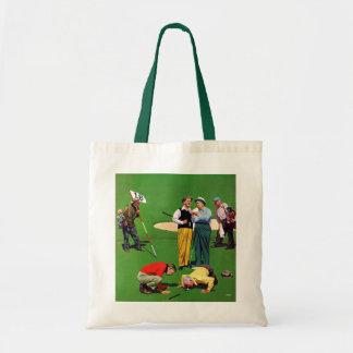 Eighteenth Hole Tote Bag